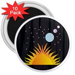 Cosmos 3  Magnet (10 pack)