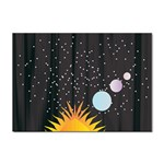 Cosmos Sticker A4 (10 pack)