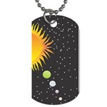 Cosmos Dog Tag (Two Sides)