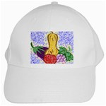 Fruit and Veggies White Cap