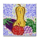 Fruit and Veggies Tile Coaster