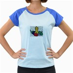 Fruit and Veggies Women s Cap Sleeve T-Shirt
