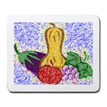 Fruit and Veggies Large Mousepad