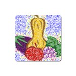 Fruit and Veggies Magnet (Square)