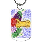 Fruit and Veggies Dog Tag (Two Sides)