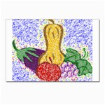 Fruit and Veggies Postcard 4 x 6  (Pkg of 10)