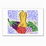 Fruit and Veggies Postcards 5  x 7  (Pkg of 10)
