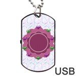 Love dogtag usb 1s - Dog Tag USB Flash (One Side)