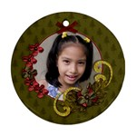 Round Ornament (Two Sides): Christmas5