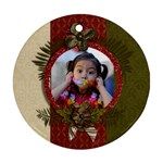 Round Ornament (Two Sides): Christmas6