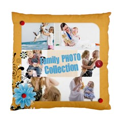 Family By Joely   Standard Cushion Case (two Sides)   7yxducto3kjm   Www Artscow Com Front
