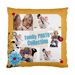 Family By Joely   Standard Cushion Case (two Sides)   7yxducto3kjm   Www Artscow Com Back
