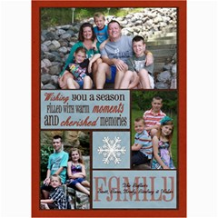 3 Photo Family Christmas Card By Lana Laflen   5  X 7  Photo Cards   O7b5gczjv7y8   Www Artscow Com 7 x5 Photo Card - 3