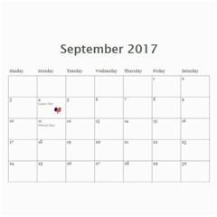 Rich By Kim Blair   Wall Calendar 11  X 8 5  (12 Months)   M7fthoi5q92h   Www Artscow Com Sep 2017