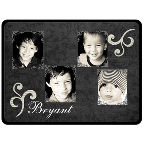 Bryantblanket By Nacole Bryant   Fleece Blanket (large)   9r8s4mypduqw   Www Artscow Com 80 x60 Blanket Front