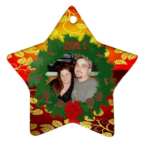 Star Ornament 1 By Kim Blair   Ornament (star)   Zi3r21o82w9l   Www Artscow Com Front