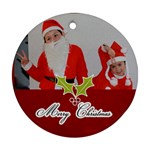Round Ornament (Two Sides): Holidays6