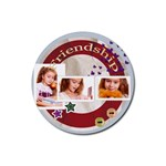 friendship - Rubber Coaster (Round)