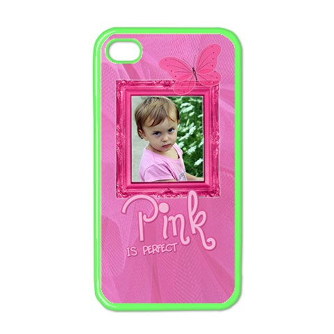 Pink Is Perfect Iphone Case By Patricia W   Apple Iphone 4 Case (color)   Alfngt15hw0e   Www Artscow Com Front