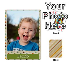 Jack Jacobgofish By Rachel Barth   Playing Cards 54 Designs (rectangle)   Hxt3u32qyva1   Www Artscow Com Front - HeartJ