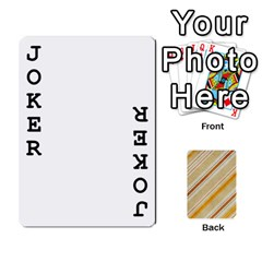 Jacobgofish By Rachel Barth   Playing Cards 54 Designs (rectangle)   Hxt3u32qyva1   Www Artscow Com Front - Joker1