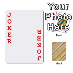 Jacobgofish By Rachel Barth   Playing Cards 54 Designs (rectangle)   Hxt3u32qyva1   Www Artscow Com Front - Joker2