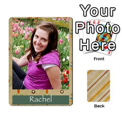 Jacobgofish By Rachel Barth   Playing Cards 54 Designs (rectangle)   Hxt3u32qyva1   Www Artscow Com Front - Spade8