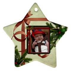 My Christmas Star Ornament (2 Sides) By Lil    Star Ornament (two Sides)   K5bq4qdyzuvc   Www Artscow Com Back