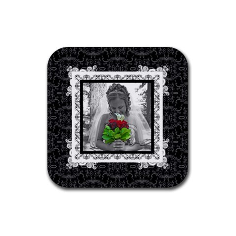 Tristin By Melanie   Rubber Coaster (square)   S99fezvv7one   Www Artscow Com Front