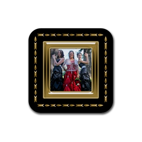 Tristin By Melanie   Rubber Coaster (square)   0py5axibg7ft   Www Artscow Com Front