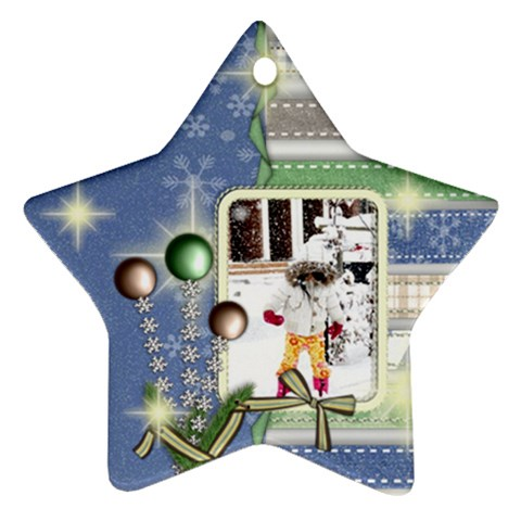 Ornament   Merry Christmas 4 By Angel   Ornament (star)   Lmcfizdjiix5   Www Artscow Com Front