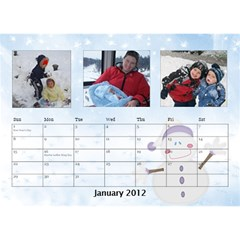 Potvins By Jennifer Degroft   Desktop Calendar 8 5  X 6    G3omyjwximcq   Www Artscow Com Jan 2012
