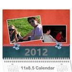 joanns xmas - Wall Calendar 11  x 8.5  (12-Months)