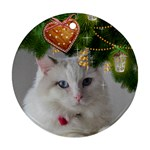 Christmas wishes round Ornament (2 sided) - Round Ornament (Two Sides)