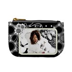 mini coin purse - black