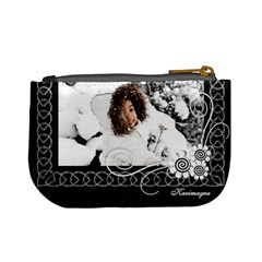 Mini Coin Purse   Black By Angel   Mini Coin Purse   Cclmpzj5dy7r   Www Artscow Com Back