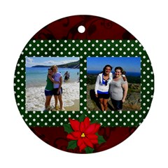 Barharborgirls By Kelly Little   Round Ornament (two Sides)   A3djv1pj6hs1   Www Artscow Com Back