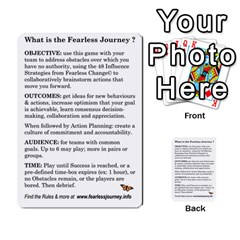 Fearless Journey Strategy Cards V1 0 1 By Deborah   Multi Purpose Cards (rectangle)   Zb5n0xvzb61m   Www Artscow Com Front 52