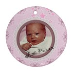 Little Princess Round Ornament (2 Sides) - Round Ornament (Two Sides)