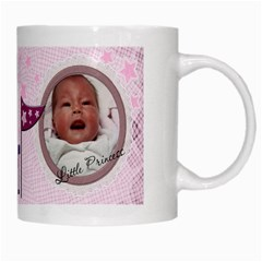 Little Princess Mug By Lil    White Mug   Ikjufsd23ysj   Www Artscow Com Right