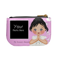 My Rosary Beads Black Hair By Lillyskite   Mini Coin Purse   C69f918w55k5   Www Artscow Com Back