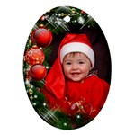Little Baubles Oval Ornament - Ornament (Oval)