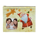 Jolly Santa Extra Large Cosmetic Bag - Cosmetic Bag (XL)
