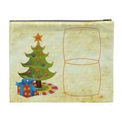 Jolly Santa Extra Large Cosmetic Bag By Catvinnat   Cosmetic Bag (xl)   Dwdkwrsak1rn   Www Artscow Com Back