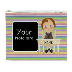 Girl Pencil Case By Lillyskite   Cosmetic Bag (xl)   Honyyvzf1tof   Www Artscow Com Front