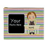 Girl Pencil Case - Cosmetic Bag (XL)
