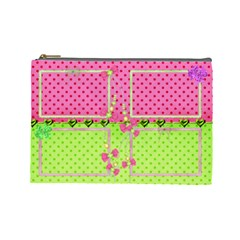 Little Princess (large) Cosmetic Bag By Deborah   Cosmetic Bag (large)   F3laqdedcd67   Www Artscow Com Front
