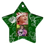 Christmas Collection  - Star Ornament (Two Sides)