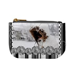 Mini Coin Purse   Black By Angel   Mini Coin Purse   Qa5c7rwwt48y   Www Artscow Com Front