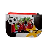 Soccer mini coin purse